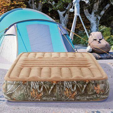 """Realtree EDGE Outdoor Zone Comfort 13"""" Queen Air Mattress Bed"""