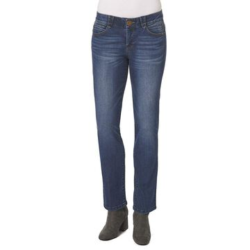 Democracy Women's Plus Ab-Solution Straight-Leg Jean Collection