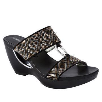 Andrew Geller Aylee Fashion Wedge Sandal