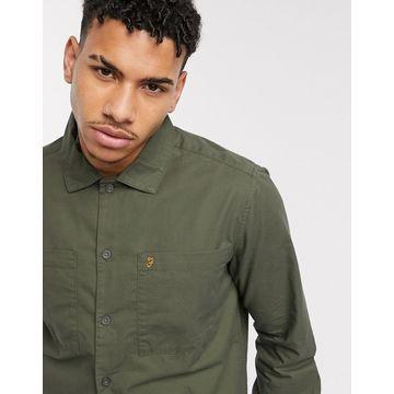 Farah Dallam light jacket in khaki-Green