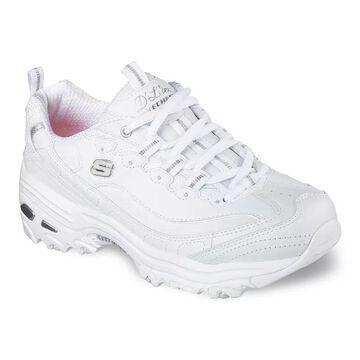 Skechers D'Lites Fresh Start Women's Sneakers, Size: 10 Wide, White