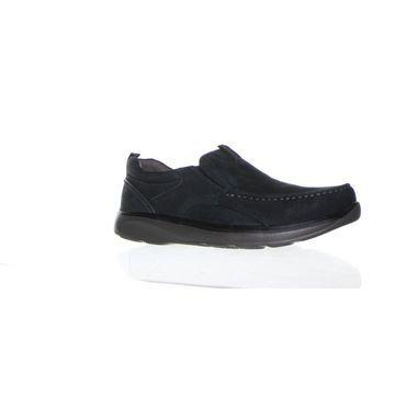 Propet Mens Owen Navy Loafers Size 11