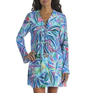 La Blanca Palm Opulence Printed Cover Up Tunic