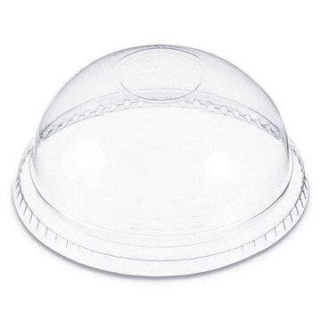Dart Plastic Dome Lid, Fits 6-22 oz. Cups, Clear, 1000/Carton -DCCDNR662