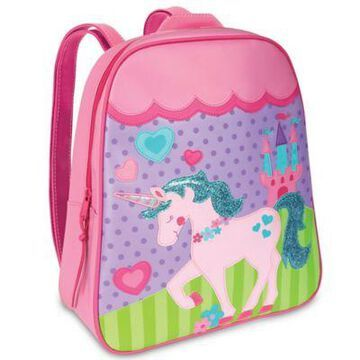 Stephen Joseph Unicorn Go Go Backpack in Pink