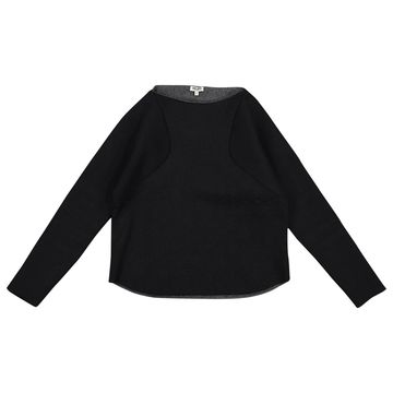 Kenzo Black Polyester Tops