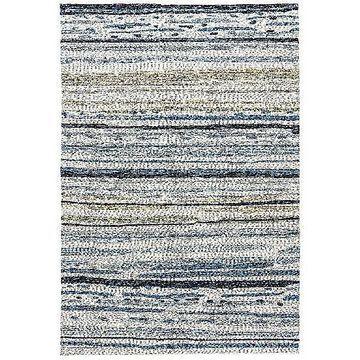 Sketchy Lines Indoor/Outdoor Area Rug by Jaipur - Color: Blue (RUG101282)