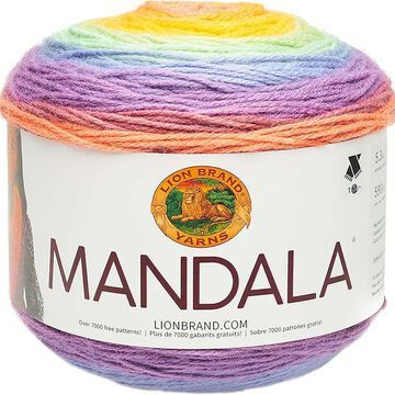 Lion Brand Yarn Mandala Sprite
