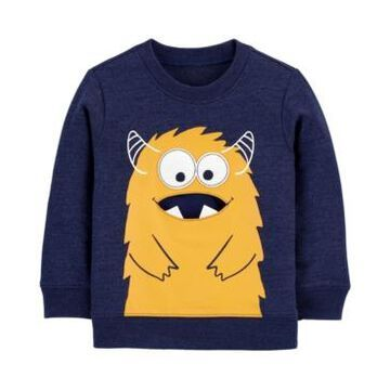 Carter's Toddler Boys Monster French Terry Pullover