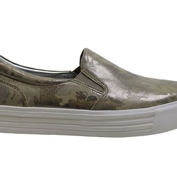 Earth Womens Rosewood Clove Leather Low Top Slip On Fashion