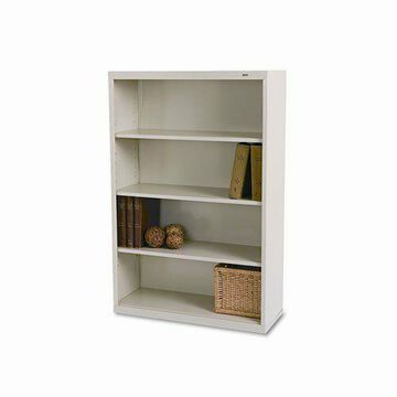 ''Tennsco B-53PY Metal Bookcase, Four-shelf, 34-1/2w X 13-1/2d X 52-1/2h, (b53py)''