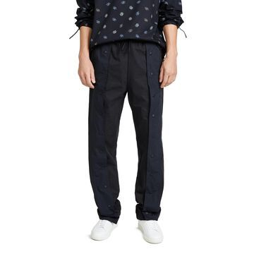 Maison Kitsune Press Snaps Pants