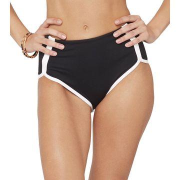 L-Space Domino Cali Cut High Waisted Bikini Bottom