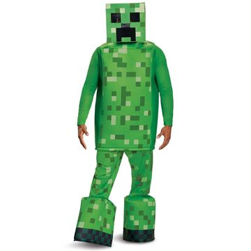 Disguise Minecraft Creeper Prestige Adult Costume-One Size
