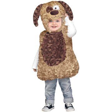 Fun World Cuddly Puppy Toddler Costume-2T-4T