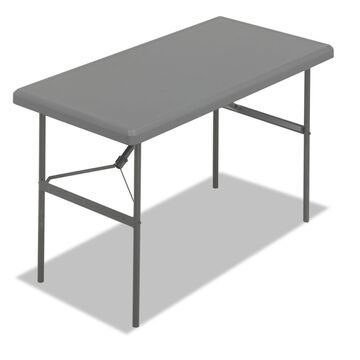 Iceberg IndestrucTables Too 1200 Series Resin Folding Table 48w x 24d x 29h