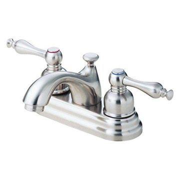 Danze D301155BN Sheridan Two Handle Centerset Lavatory Faucet, Brushed