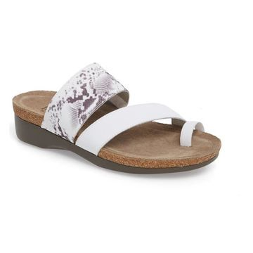 Munro Womens Aries Open Toe Casual Slide Sandals