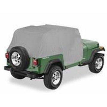Bestop 81036-09 Jeep Wrangler All Weather Trail Cover, Charcoal