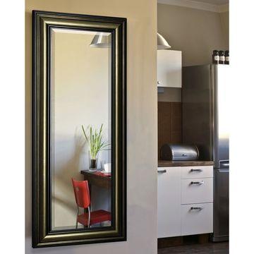 American Made Rayne Antiqued 29.5 x 67.5-inch Full Body Mirror - Bronze/Black - A/N