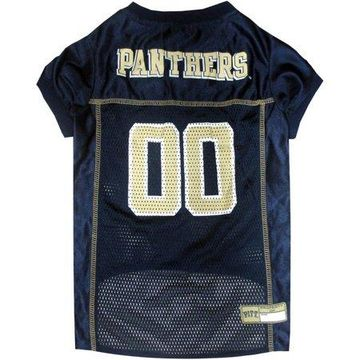 Pets First College Pittsburgh Panthers Collegiate Dog Jersey, Available in Various Sizes