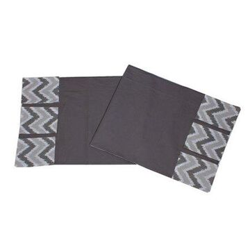 Bacati - MixNMatch Grey Zigzag, Changing Table Storage Runner