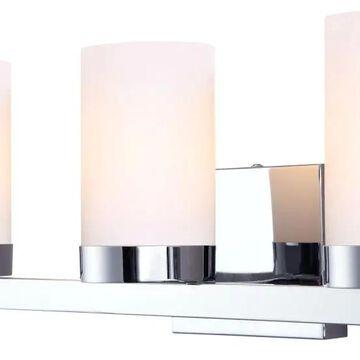 Canarm Milo 3-Light Chrome Modern/Contemporary Vanity Light | IVL429A03CH