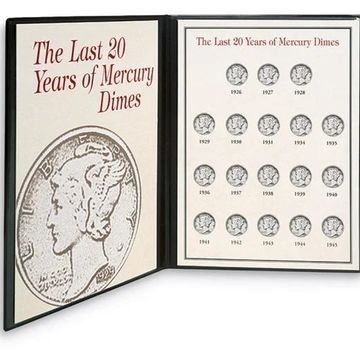 American Coin Treasures Last Twenty Years of Mercury Dimes