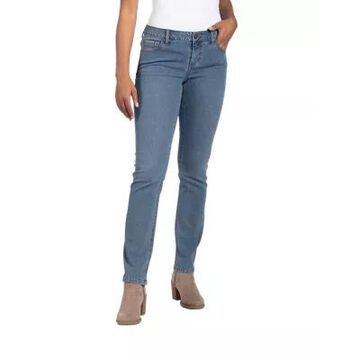 Natural Reflections Promo Classic Straight-Leg Jeans for Ladies