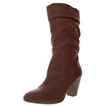 Esprit Womens Oliana Mid-Calf Boots
