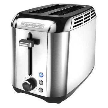 Black & Decker Rapid Toast 2-Slice Toaster, Multicolor, 2 SLICE