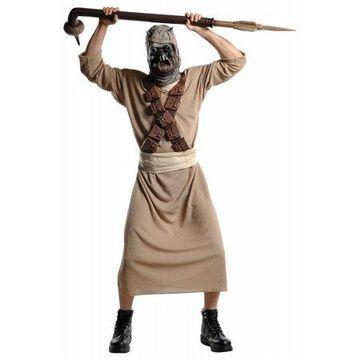 Star Wars Mens Dlx. Tusken Raider Adult Halloween Costume