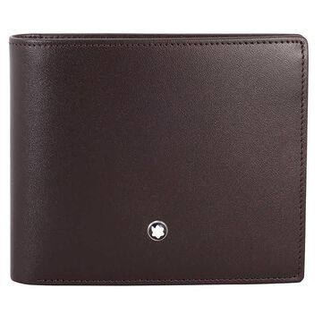 Montblanc Meisterstuck 6 CC Leather Wallet MB114549 - Brown