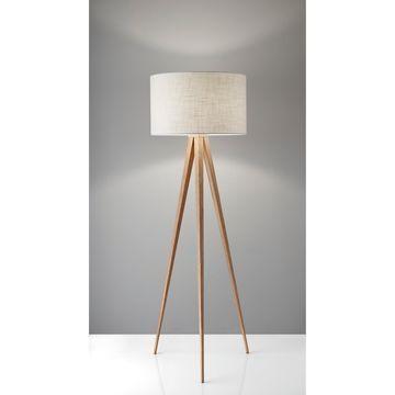 Adesso Tripod Director Floor Lamp