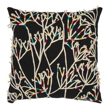 Rizzy Home Branches Throw Pillow
