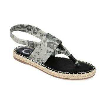 Journee Collection Flin Espadrille Sandals Women's Shoes