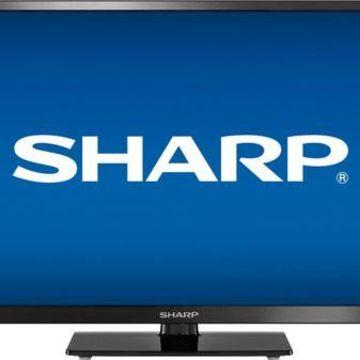 ''Sharp - 24'''' Class - LED - 720p - Smart - HDTV Roku TV''