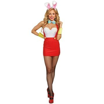 Dreamgirl Bunny Babe Adult Costume-X-Large