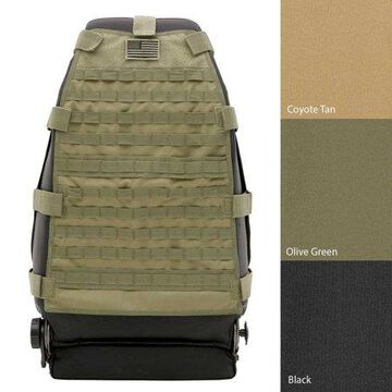 Smittybilt G.E.A.R. Front Seat Cover (Olive Drab) - 5661031