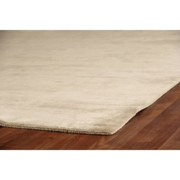 Exquisite Rugs Swell Light beige Viscose Rug - 4' x 6'