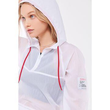 Spalding Sheer Woven Windbreaker Jacket
