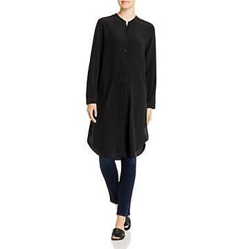 Eileen Fisher Chiffon Tunic Shirt
