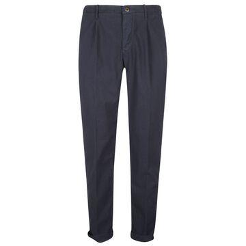 Incotex Classic Plain Trousers