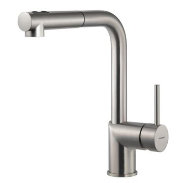 Houzer VITPO-664 Vitale Pull-Out Kitchen Faucet with CeraDox Lifetime Technology