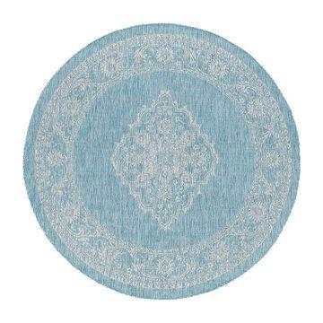 Tayse Devie Round Indoor Rugs