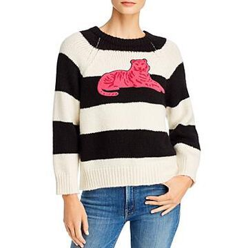 Mother The Boat Square Striped Sweater
