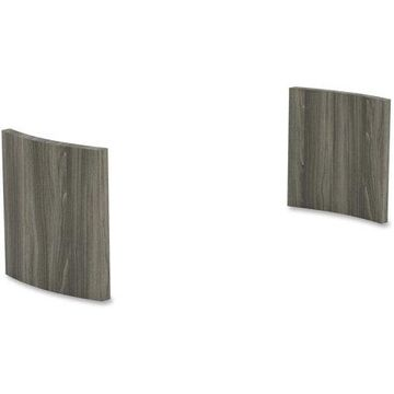 Mayline, Gray Laminate Conference Table Panel Base, 1 Each