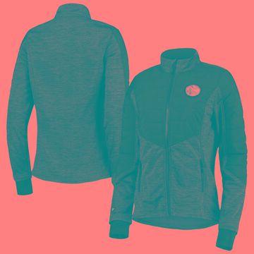 Levelwear Golden State Warriors Women's Black Sapphire Full-Zip Jacket