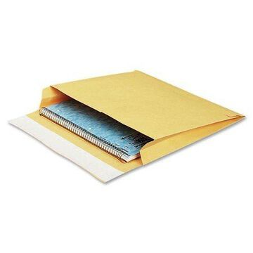 Quality Park, QUAE9140, Open-side Self-Seal Expansion Mailers, 100 / Carton, Brown