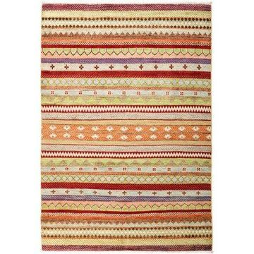 Solo Rugs One-of-a-kind Lori Hand-knotted Area Rug 4' x 6'